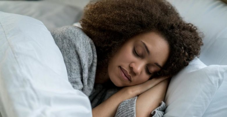 طريقة النوم